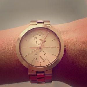 Michael Kors Rose Gold Garner Watch